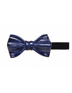 Бабочка синяя плиссе глянцевая Cor Sine Labe Doli