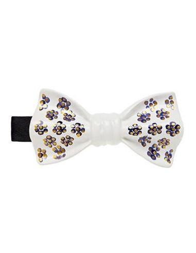 Бабочка белая с цветочным декором Cor Sine Labe Doli
