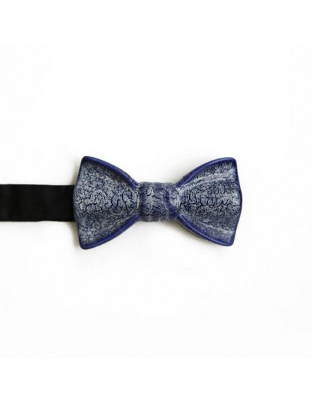 Бабочка мраморно-синяя глянцевая Cor Sine Labe Doli