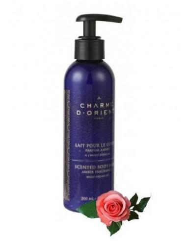 Молочко для тела с ароматом розы CHARME D'ORIENT