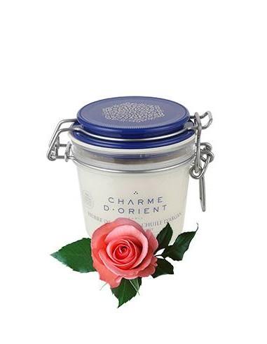 Масло карите с маслом арганы для лица и тела с ароматом Роза Charme D Orient