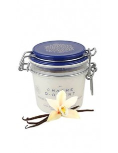 Масло карите с маслом арганы для лица и тела с ароматом Ванили Charme D Orient