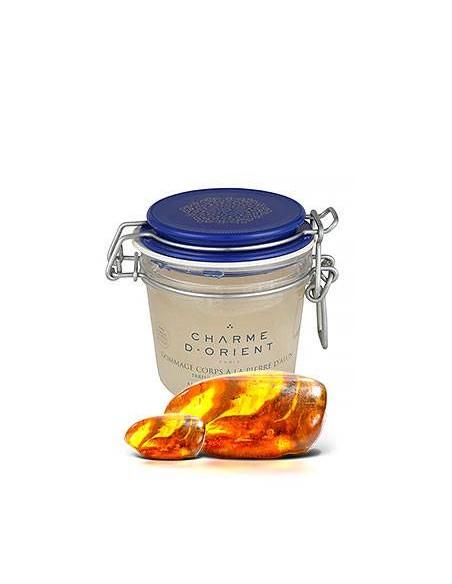 Скраб с квасцовым камнем и ароматом янтаря Charme d'Orient Paris
