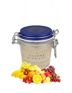 Солевой пилинг для тела с квасцовым камнем и ароматом фруктов Charme d'Orient