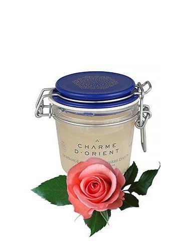 Солевой пилинг для тела с квасцовым камнем и ароматом розы CHARME D'ORIENT