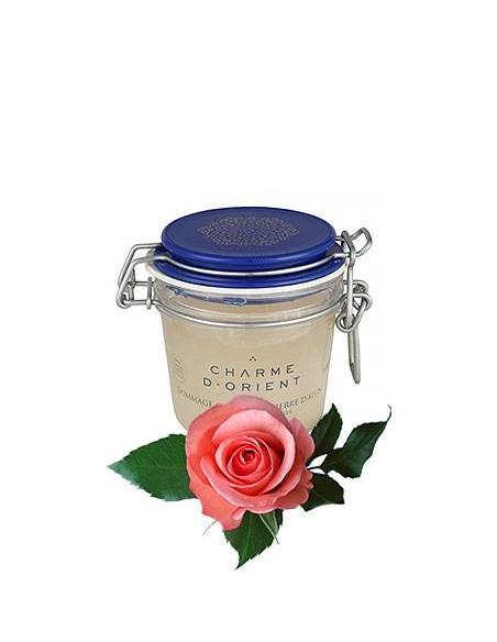Скраб с квасцовым камнем и ароматом розы Charme d'Orient Paris