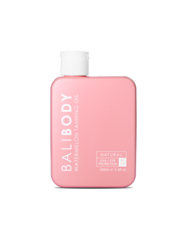 Кавунове масло для засмаги Bali Body Watermelon Tanning Oil SPF15