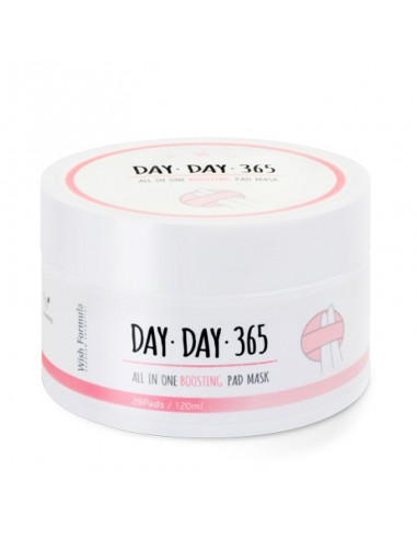 Очищувальні пілінг-спонж c кислотами Wish Formula Day Day 365 All in One Boosting Pad Mask