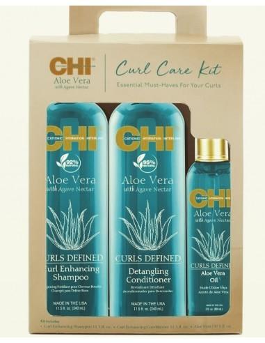 CHI Aloe набор для кучерявых волос