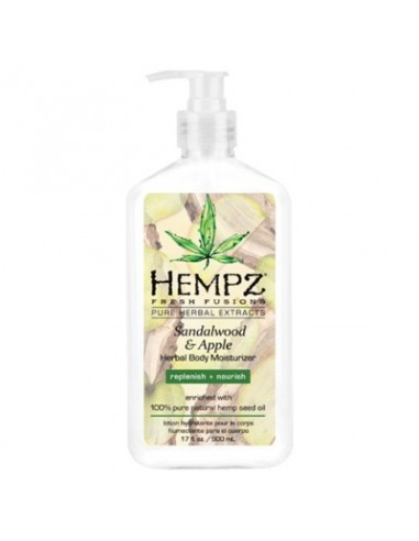 Молочко для тіла Сандал-Яблоко Hempz Sandalwood and Apple Herbal Body Moisturizer