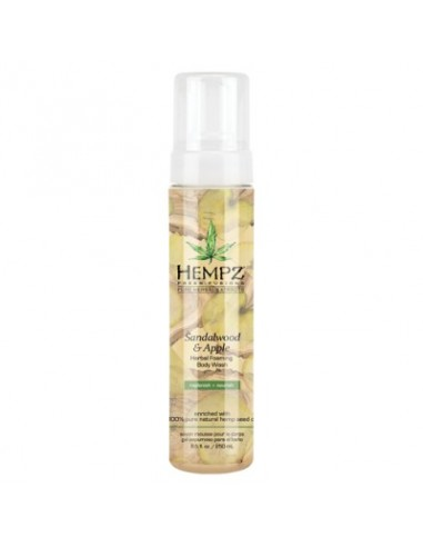 Гель для душа Сандал-Яблоко Hempz Sandalwood and Apple Herbal Foaming Body Wash