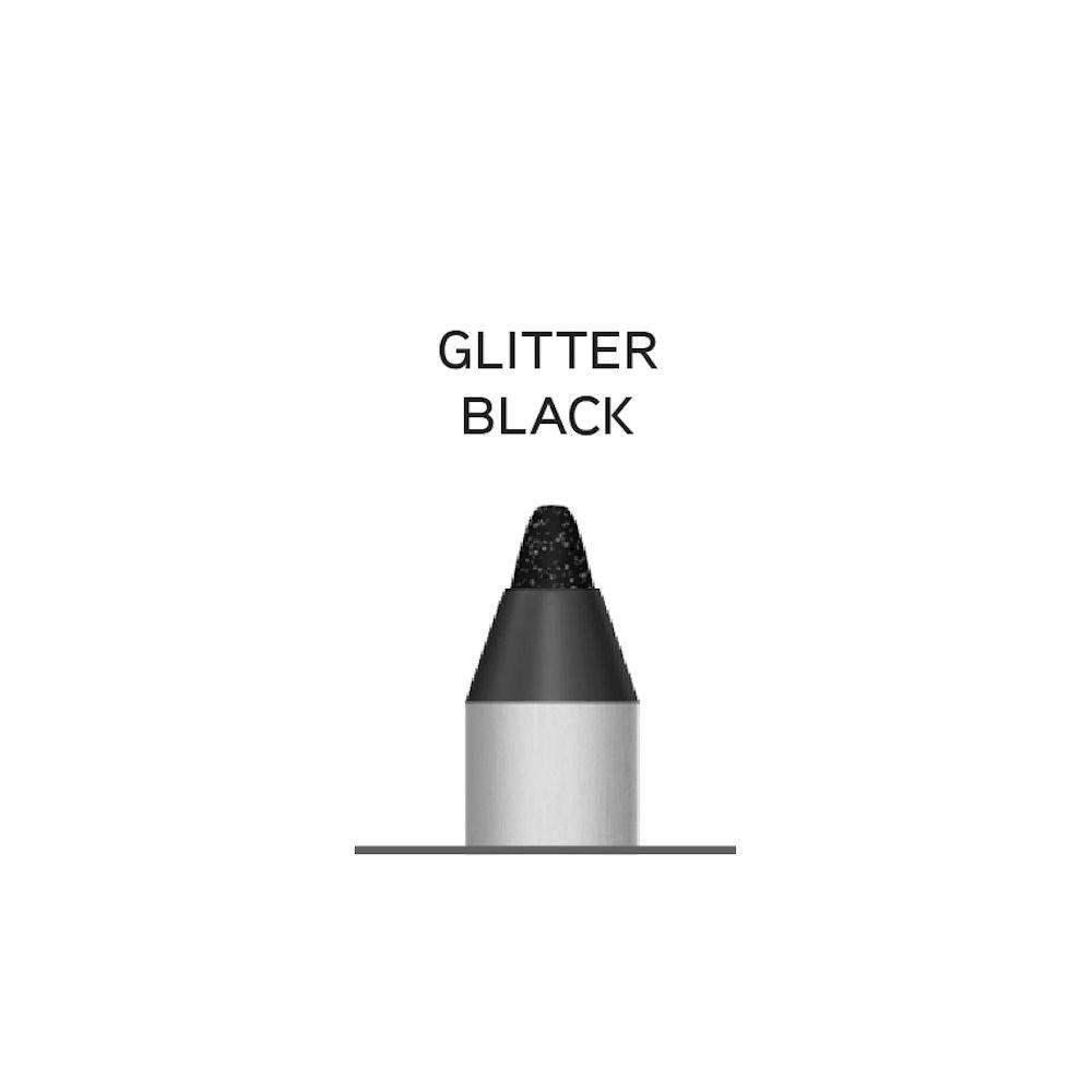 Glitter Black (Черный Глиттер)